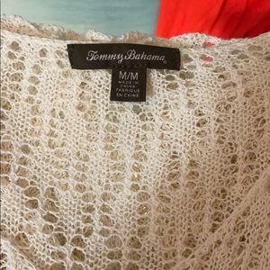 Tommy Bahamas See Through Shirt/Beach Coverup